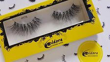 Eldora False Eyelashes H173 Human Hair Strip Lashes