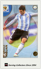 2010 Panini World Cup Soccer Trading Card Common No46 Gonzalo Higuain (Argentina