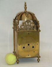 Large Brass Heavy Lantern Clock Case, Very Good Quality
