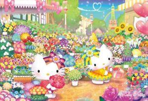 1000 Piece Jigsaw Hello Kitty's Flower Market