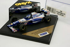Onyx 1/43 - F1 Williams Renault FW17 Coulthard