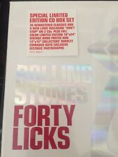 Forty Licks [Collector's Edition] [Limited] by The Rolling Stones (CD, Oct-2002,