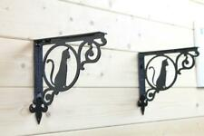 Cat Ornamental Shelf Brackets (Pair)