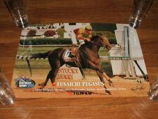 FUSAICHI PEGASUS 2000 KENTUCKY DERBY HORSE RACING ORIGINAL POSTER TONY LEONARD