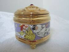 Valentine musical Jewel Box The Pulchinella by Franklin Mint House of Faberge