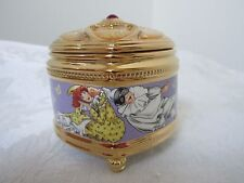 House of Faberge Russian Themed music Jewel Box The Pulchinella by Franklin Mint