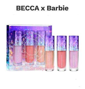 Genuine Limited Edition BECCA x Barbie FerreiraPrismaticaLip Gloss Kit