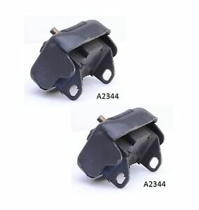 2 PCS FRONT LEFT & RIGHT MOTOR MOUNT For 1974-1978 FORD MUSTANG II 2.3L & 2.8L