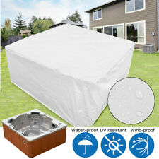 Large Double-sided Hot Tub Spa Cover Dust Waterproof Protect Covers Cap Guard