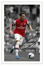 MESUT OZIL ARSENAL SIGNED PHOTO PRINT AUTOGRAPH SOCCER