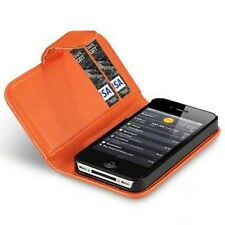 For Apple iPhone 4/4S PU Leather Wallet Case Cover