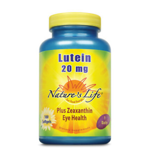 Nature's Life  Lutein 20 mg   100 ct