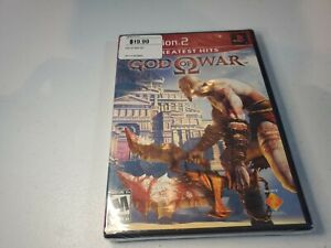 God of War (PlayStation 2, 2007) greatest hits red label-new- sealed ps2