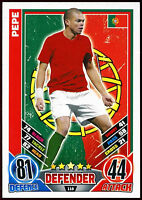 Pepe Portugal #118 England 2012 Match Attax TCG Card (C206)