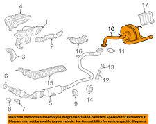 TOYOTA OEM 12-17 Yaris 1.5L-L4-Muffler 1743021831