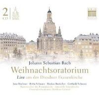 WEIHNACHTSORATORIUM,BWV 248; 2 CD  JOHANN SEBASTIAN BACH CLASSIC CHOIR  NEU