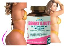GET THICK BREAST BUTT THIGHS HIPS WEIGHT GAIN ENLARGER 90 capsules