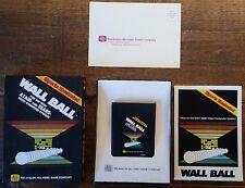 WALL BALL AVALON HILL VERY RARE 7 COMPLETE IN BOX CIB ATARI 2600 or 7800 TESTED