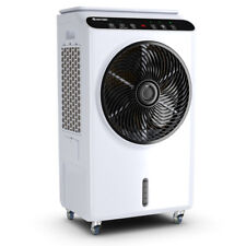 Evaporative Portable Air Cooler Fan & Humidifier with Remote Control 12 Timer