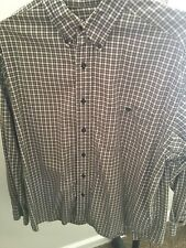 Eddie Bauer Mens Large Flannel Shirt Plaid