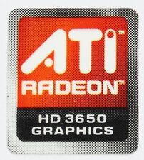 ATI  RADEON HD 3650  STICKER LOGO AUFKLEBER 13x15mm (422)