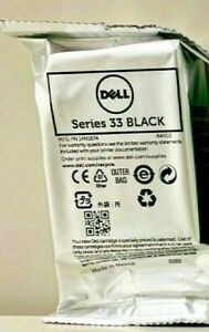New Genuine Dell Series 33 Black Series Ink Cartridges Photo all-in-one  V525w