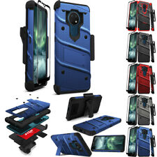 FOR NOKIA 2020 PHONE MODELS ZIZO BOLT ARMOR HEAVY DUTY HOLSTER CASE COVER