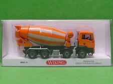 1:87 Wiking 068148 Fahrmischer (MAN TGS Euro 6 / Liebherr) - orange