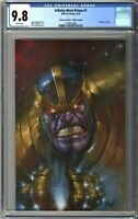Infinity Wars Prime #1 CGC 9.8 PARRILLO Unknown Comics VIRGIN Variant Cover