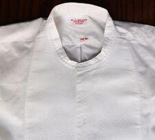 Vintage Marcella tunic shirt size 14 WV Brown hosier Eton school uniform man boy