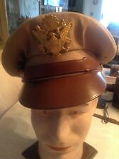 WWII U.S. ARMY OFFICERS SERVICE CAP.