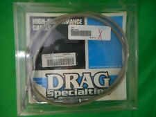"""NOS Drag Specialties Braided Idle Cable 41.5"""" 0651-0108 5342102 OEM"""