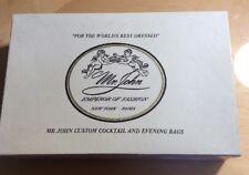 Vintage Mr John  BLACK BEADED SEQUINS EVENING COCKTAIL  purse