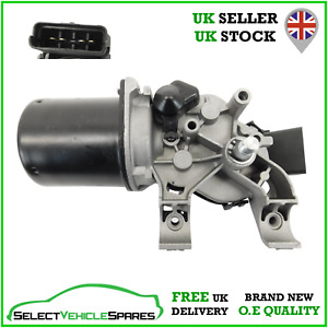 NEW RENAULT CLIO 3 MK3 FRONT WINDSCREEN WIPER MOTOR (4 PIN) 2006-2012