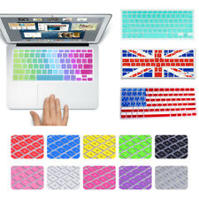 16 Desgin Keyboard Cover Skin For Macbook Air 11 13 Pro 13 15'' Touch Bar