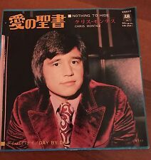 """Chris Montez - Nothing to Hide / Day By Day 7"""" Vinyl Japan EP AM-204"""