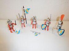 Playmobil Knight set 3291 3909 Blue shields with Lion. very rare