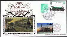 """150th ANNIVERSARIO DELLA LETTERA Ferroviarie Gwr-TIMBRO DEL SERVIZIO """"Duca di Ferro' 1985"""