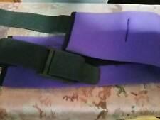 Super soft Neoprene Purple Diving Belt with 5 pockets