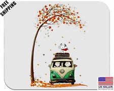 Snoopy, Fall, Birthday, Gift, Mouse Pad, Non-Slip, USA, White