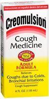 Creomulsion Cough Medicine Adult Formula 4 oz (Pack of 3)