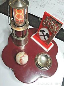 "Nixie SteamPunk ""Miner Lamp & Stuff"" w. electronic clock - single digit display"