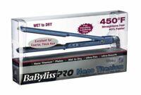 "BaByliss PRO Nano Titanium 1-1/2"" Wet To Dry Ultra Thin Straightener BABNT5073T"