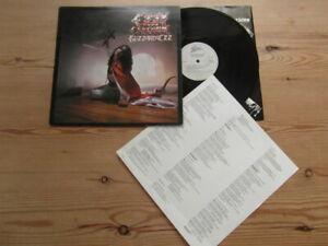 OZZY OSBOURNE-BLIZZARD OF OZZ-GREAT AUDIO-EPIC 1st UK PRESS- EX VG+ VINYL LP1980