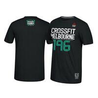 Reebok 2016 CrossFit Games Melbourne #196 Men's Black T-Shirt