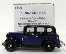 Kenna Models 1/43 Scale KM13 - Wolseley 9 - Dark Blue/Black