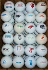 New listing 72  LOGO  GOLF BALLS  USED