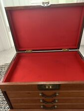 Chinese Rosewood Wooden Large Jewellery Box