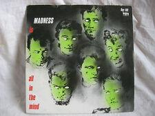 VINYL 45 T SKA – MADNESS : IS ALL IN THE MIND + 1 – STIFF GB 1983 ORIGINAL