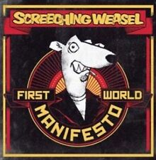 First World Manifesto [LP] by Screeching Weasel (Vinyl) SEALED